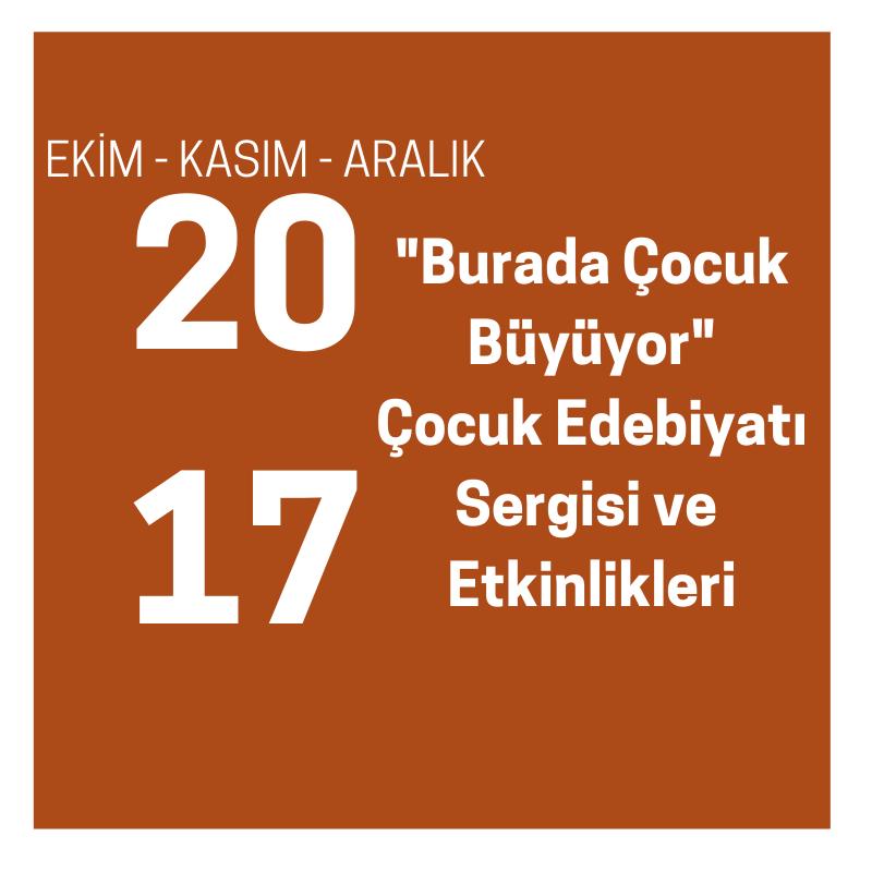 """""""BURADA ÇOCUK BÜYÜYOR"""" ÇOCUK EDEBİYATI SERGİSİ ve ETKİNLİKLERİ"""